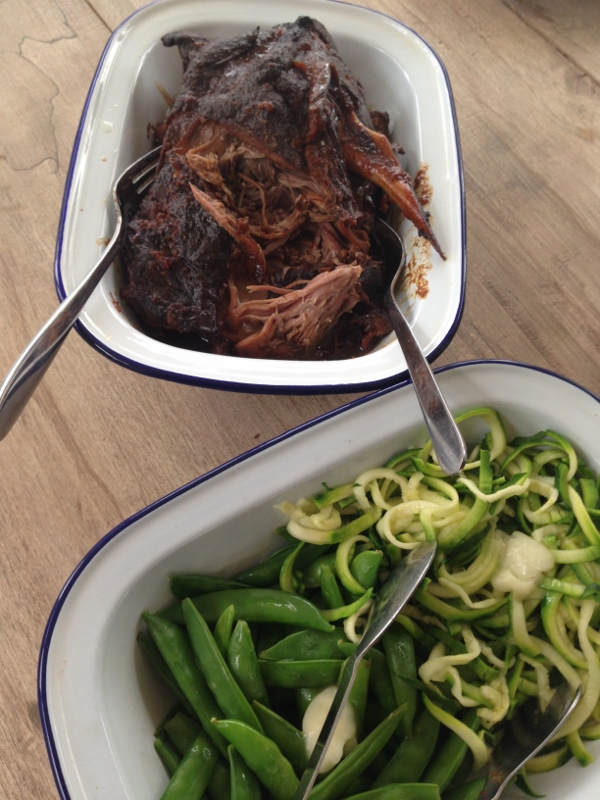 Roast Lamb Shoulder with Miso and Aubergine - Fanny's Real ...